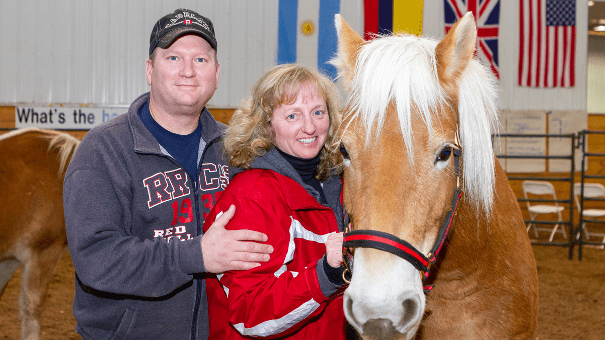 Couples-Based Equine Therapy participants