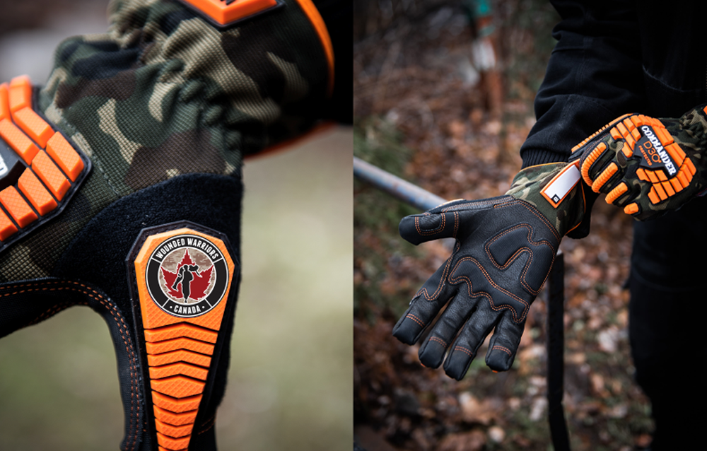 WATSON GLOVES PARTNERS WITH WOUNDED WARRIORS CANADA