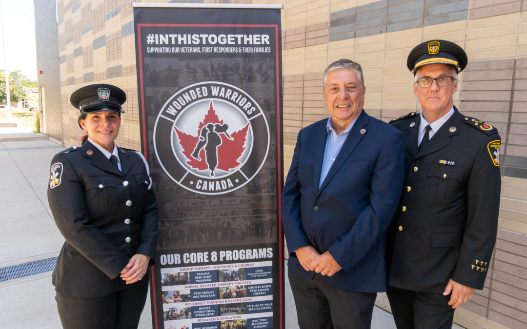 PEEL REGIONAL PARAMEDIC SERVICES PARTNERS WITH WOUNDED WARRIORS CANADA