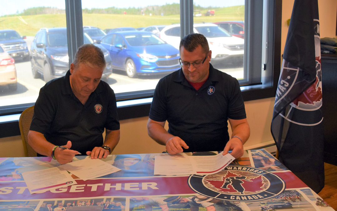 PARAMEDIC ASSOCIATION OF NFLD & LABRADOR PARTNERS WITH WOUNDED WARRIORS CANADA
