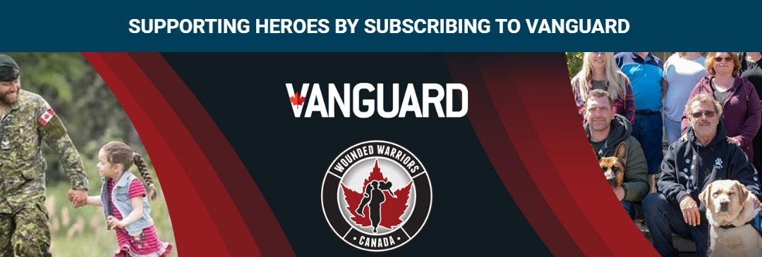 WOUNDED WARRIORS CANADA PARTNERS WITH VANGUARD