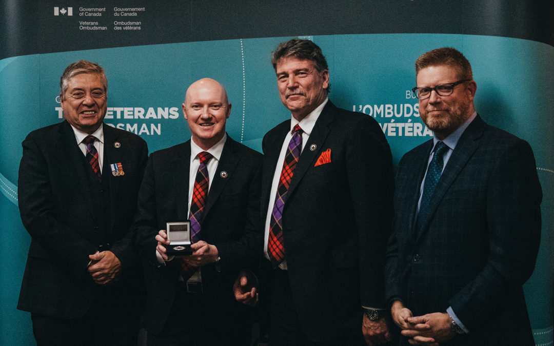 WOUNDED WARRIORS CANADA RECEIVES VETERANS OMBUDSMAN NATIONAL ORGANIZATION COMMENDATION