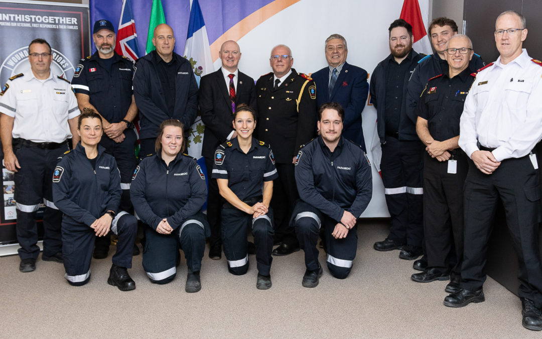 PETERBOROUGH COUNTY-CITY PARAMEDICS PARTNER WITH WOUNDED WARRIORS CANADA