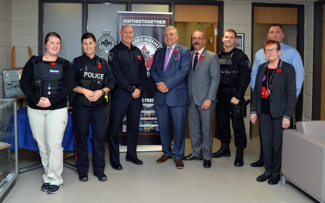 WOODSTOCK POLICE SERVICE PARTNERS WITH WOUNDED WARRIORS CANADA
