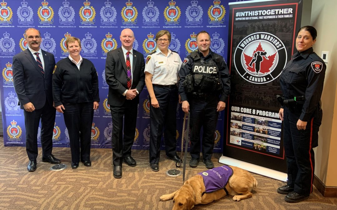 WOUNDED WARRIORS CANADA PARTNERS WITH KINGSTON POLICE