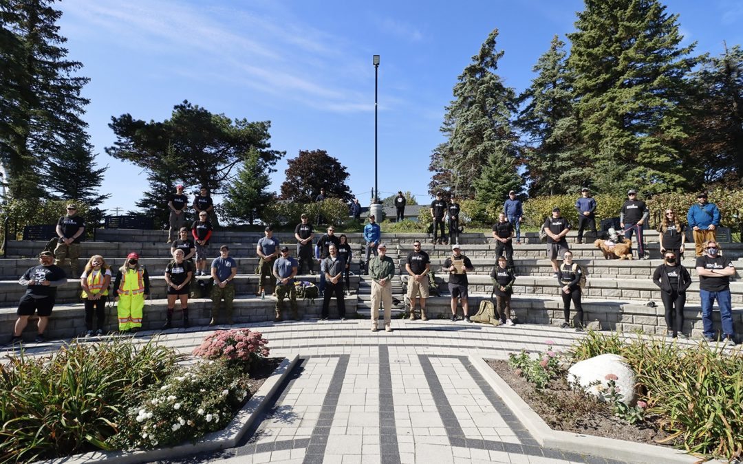 RUCKSACK MARCH RAISING FUNDS AND AWARENESS FOR WOUNDED WARRIORS CANADA