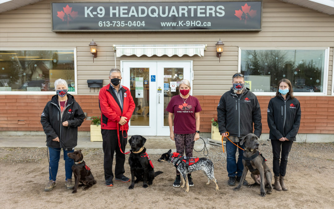 WOUNDED WARRIORS CANADA ADDS FIRE TEAM K-9 TO PTSD SERVICE DOG PROGRAM