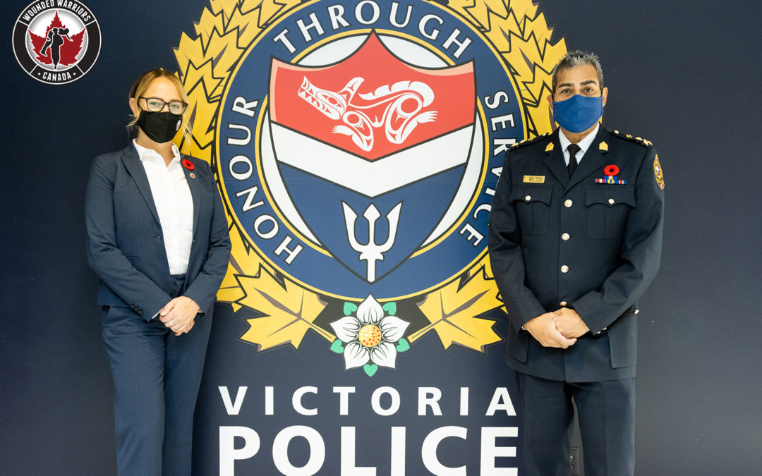 VICTORIA POLICE PARTNERS WITH WOUNDED WARRIORS CANADA