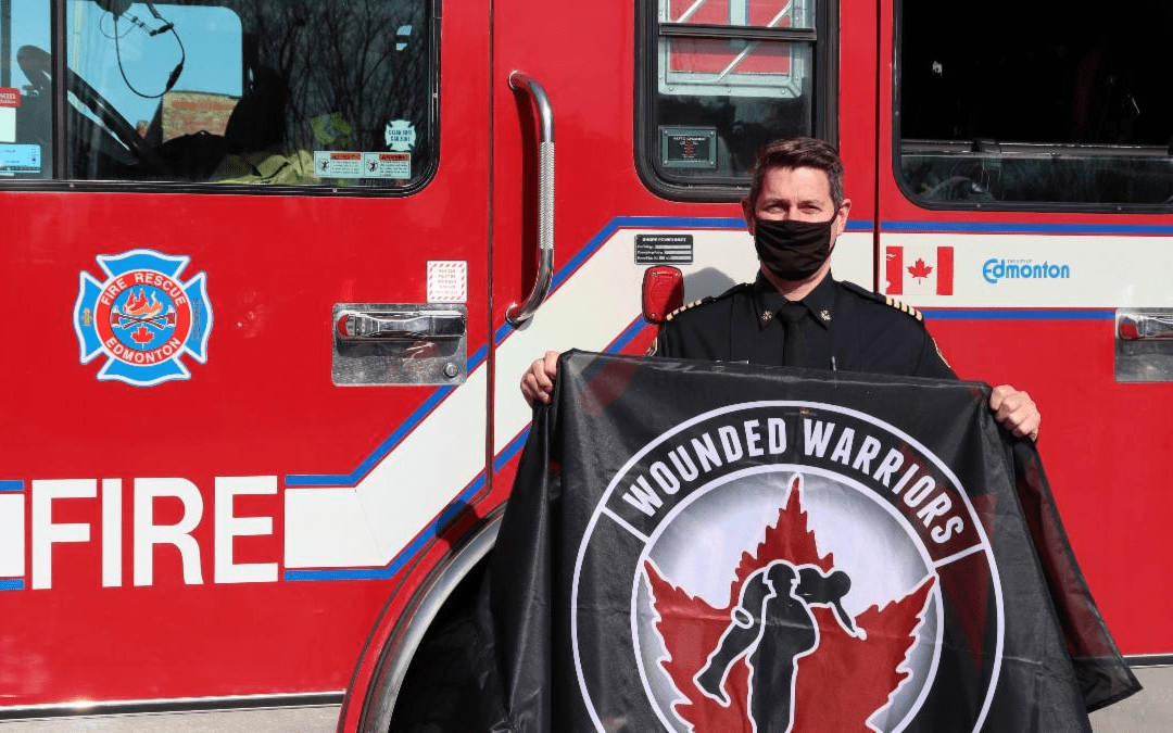 WOUNDED WARRIORS CANADA PARTNERS WITH EDMONTON FIRE
