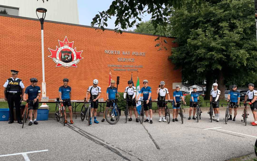 North Bay Police Service Partners with  Wounded Warriors Canada and Hosts 2021 Ride for Mental Health