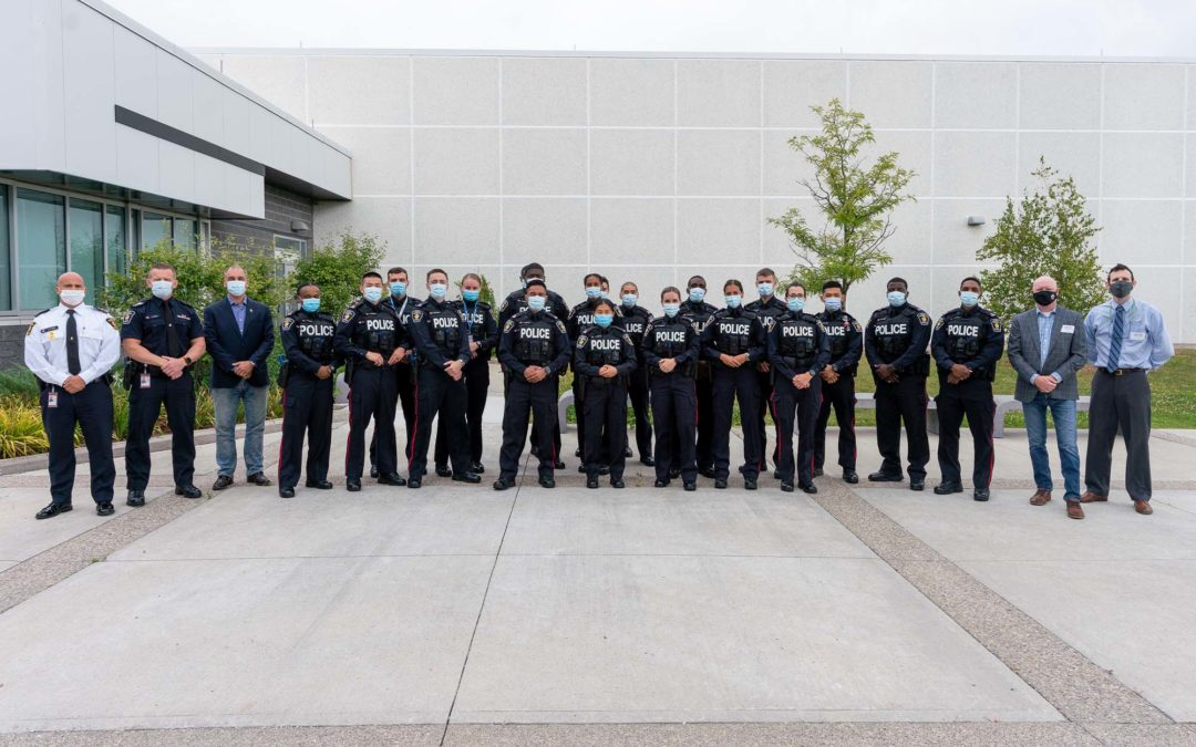 YORK REGIONAL POLICE RECRUITS FIRST IN CANADA TO RECEIVE BEFORE OPERATIONAL STRESS (BOS) TRAINING
